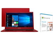 Notebook Positivo Motion Red Q232B Intel Quad Core - 2GB + Microsoft 365 Personal 1TB OneDrive