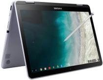 Notebook Samsung 2 em 1 Chromebook Intel 1.5GHz 4GB RAM 64GB SSD OS Tela 12.2 - Prata -