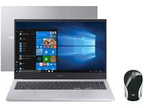"Notebook Samsung Book X45 Intel Core i5 8GB - 256GB SSD 15,6"" Placa de Vídeo 2GB + Mini Mouse"