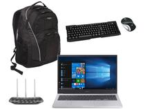 Notebook Samsung Book X45 Intel Core i5 8GB 256GB  - SSD + Mini Mouse e Teclado + Roteador + Mochila