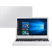 Notebook Samsung Essentials E20, Dual-Core, 15.6, Windows 10 Home, 4GB, 500GB - Branco