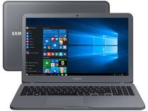 "Notebook Samsung Essentials E20 Intel Dual Core - 4GB 500GB 15,6"" Windows 10"