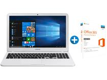 Notebook Samsung Essentials E20 Intel Dual Core - 4GB 500GB LED + Microsoft Office 365 Personal