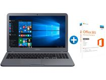 "Notebook Samsung Essentials E30 Intel Core i3 4GB - 1TB LED 15,6"" + Microsoft Office 365 Personal"