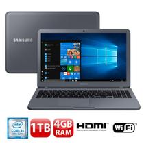 "Notebook Samsung Expert X20 NP350XAA-KFWBR, Core i5-8250U, 4GB, 1TB, Full HD 15.6"", Windows 10"