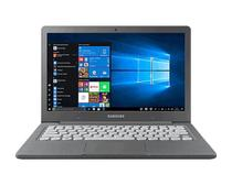 "Notebook Samsung Flash F30 Grafite 64GB SSD, Memória 4GB, Processador Intel Celeron, Tela 13.3"" Full HD -"
