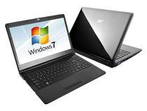 Notebook SIM 6470 c/ Intel  Core i7 - 4GB 640GB LED 14 Windows 7 Webcam HDMI