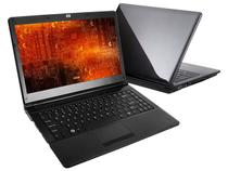 Notebook SIM 6490 c/ Intel  Core i7 - 2GB 500GB LED 14 HDMI Grava DVD