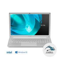 Notebook Ultra, com Windows 10 Home, Processador Intel Core i5, Memória 8GB RAM e 240GB SSD, Tela 15,6 Pol. Full HD, Prata - UB522 -