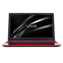 """Notebook Vaio Fit 15S  8ª Geração Core i7 8GB 256GB SSD Tela 15.6"""" Full HD Windows 10 Home - Vermelho -"""