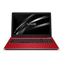 "Notebook Vaio Fit 15S Core i5 8GB 1TB Tela 15.6"" HD Windows 10 Home - Vermelho -"