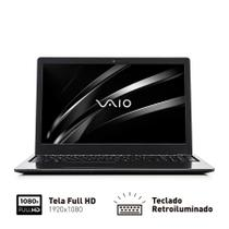 """Notebook Vaio Fit 15S Intel Core i3 4GB 128GB SSD Tela LED 15,6"""" Full HD Win 10  VJF154F11XB0811B -"""