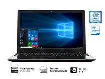 Notebook Vaio Vjf155f11x-B0511b Fit 15s I7-7500u 8gb 1tb 15.6 Fullhd Tecl Retroiluminado Win10 Home - Sony