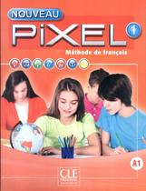 Nouveau pixel 1 - livre de l´eleve + dvd-rom - Cle international - paris -