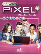 Nouveau pixel 2 - livre de l´eleve + dvd-rom - Cle international - paris -