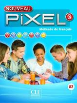 Nouveau pixel 3 - livre de l´eleve + dvd-rom - Cle international - paris -