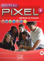 Nouveau pixel 4 - livre de l´eleve + dvd-rom - Cle international - paris -