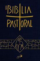 Nova bíblia sagrada catolica pastoral média capa cristal paulus -