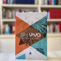 Nova Bíblia Viva  Letra Grande NBV  Capa Flexível Personalizada Natureza  Letra Grande Hagnos -