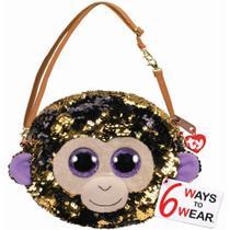 Nova Bolsa Fashion Ty Paete Macaco Coconut Dourado Dtc 5028 -