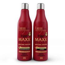 Nova Escova Progressiva Ingel Maxx Forever Liss 2x1 litro -