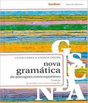 Nova gramatica do portugues contemporaneo - 07 ed - Lexikon
