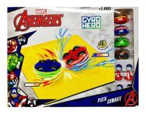 Nova Pista Combate Gyro Hero Marvel Os Vingadores - DTC -