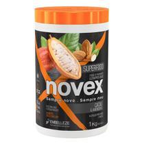 Novex Superfood Cacau e Amendoas Creme de Tratamento 1kg -