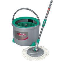 Noviça Mop Twister Esfregão Giratório para Limpeza Balde 7 Litros Bettanin BT1902 -