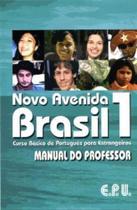 Novo avenida brasil 1 - manual do professor - Epu-