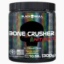 Novo bone crusher nitro 2t - pré-treino 300g - Black Skull