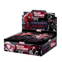 Novo Box Booster Battle Scenes Confronto Aracnideo Copag -