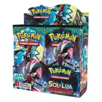 Novo Box Boosters Pokemon Sol E Lua 2 Guardiões Ascendentes - Copag