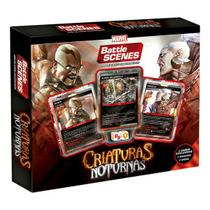 Novo Box Copag Battle Scenes Marvel Criaturas Noturnas -