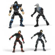 Novo Brinquedo Boneco Mini Figura Ninjas Surpresa Dtc 4192 -