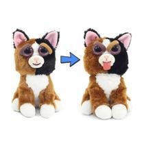 Novo Brinquedo Pelucia Feisty Pets Teca Trombada Dtc 4714 -