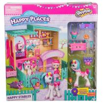 Novo Brinquedo Shopkins Happy Places Estábulo Feliz 4957 - Dtc