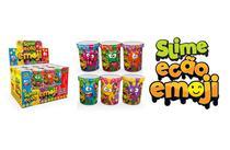 Novo Brinquedo Slime Ecao Emoji 110g Aleatório Dtc 5057 -
