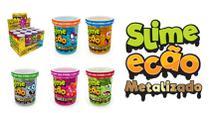 Novo Brinquedo Slime Ecao Metalizado 110g Aleatório Dtc 5054 -