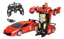 Novo Carro Robo Transformers Com Controle Remoto - Dmtoys