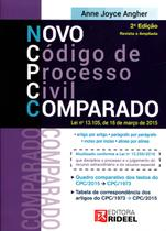 Novo Código de Processo Civil Comparado - Rideel