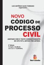 Novo codigo de processo civil - Servanda -