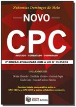 Novo cpc: anotado, comparado, comentado - Rumo legal
