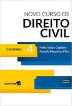 Novo Curso de Direito Civil 4. Contratos - Saraiva (Juridicos) - Grupo Saraiva