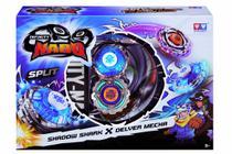 Novo Infinity Nado Shadow Shark e Delver Mecha Candide 3903 -