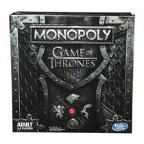 Novo jogo monopoly game of thrones - hasbro e3278 -
