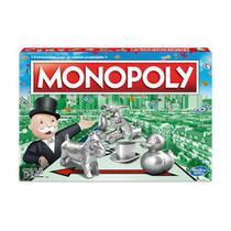 Novo Jogo Monopoly  Lançamento C1009 - Hasbro -