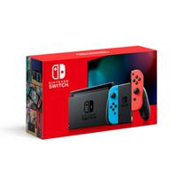 Novo Nintendo Switch Com Neon Blue e Neon Red Joy - Con