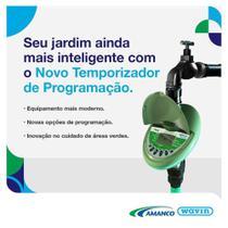 NOVO Temporizador AMANCO de Programação Digital TW30 p/ irrigação de jardim -