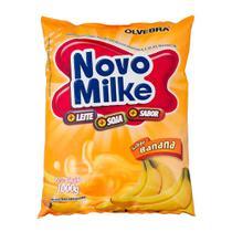 Novomilke Sabor Banana Pacote com 1Kg - Novo Milke